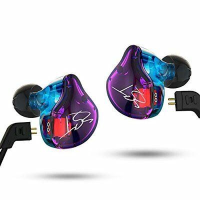 KZ ZST Dynamic Hybrid Dual Driver In-Ear Headphones Color without Mic NO TAX