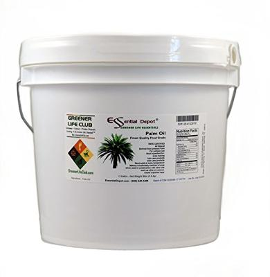 Palm Oil - RSPO Certified - Sustainable - Food Grade - Kosher - Not Hydrogenated