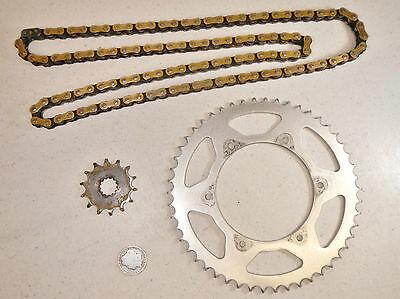 12 Yamaha YZ250 YZ 250 Front 14T/Rear 50T Primary Drive Sprockets & O-Ring Chain