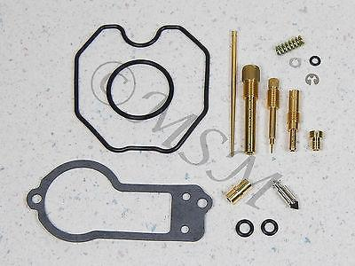 91 HONDA XR250L NEW KEYSTER CARBURETOR MASTER REPAIR KIT 0201-178