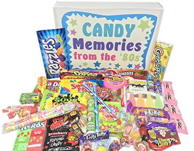 Woodstock Candy ~ 80s Retro Candy Gift Box with 1980's Candy Assortment for Man