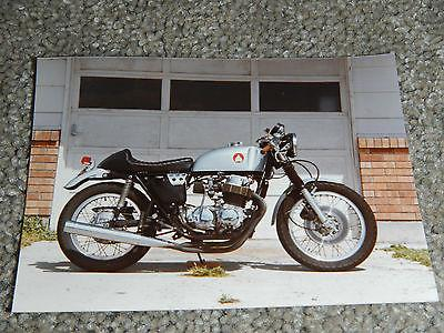 OLD VINTAGE MOTORCYCLE PICTURE PHOTOGRAPH BIKE #38