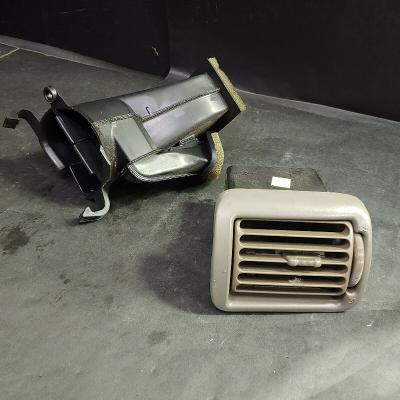 AC Air Conditioner Heater Defrost Passenger Side Dash Vent & Duct Tube Pipe
