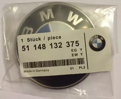 74mm BMW Bonnet Boot emblem badge for e81 e90 e 91 e92 e46 e60 e61