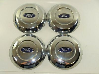 Set Of (4) 2004-2008 FORD F150 F-150 5L34-1A096-GA GB OEM Chrome Center Caps