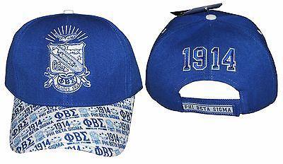Phi Beta Sigma Cap - Blue Phi