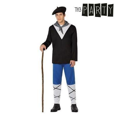 Costume for Adults Basque (4 Pcs)