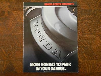 HONDA GENERATORS PUMPS MOWERS TILLERS NOS OEM DEALER'S SALES SHEET BROCHURE