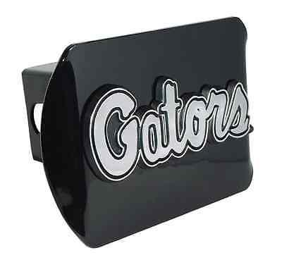 "University of Florida (Script ""Gators"") Black Hitch Cover"