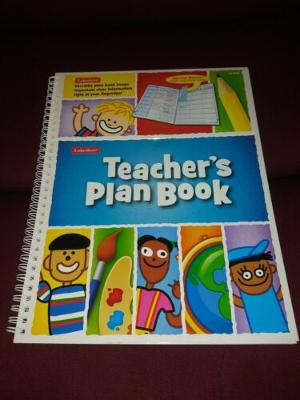 Lakeshore Learning Teachers Plan Book LL968 New W Plastic Page Finder Spiral...