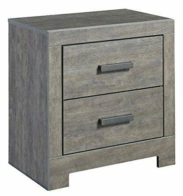 Signature Design by Ashley B070-92 Culver Bach Nightstand Gray FAST SHIP