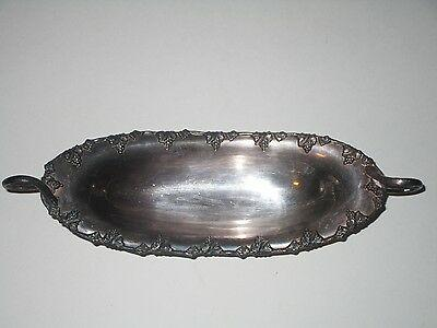 Sheffield Silver on Copper #434 Footed Serving Dish