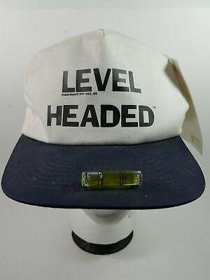 Level Headed Snapback Cap Hat
