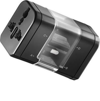 Insignia - Global Travel Adapter Kit - Black Model: NS-TAPS5 | NS-TAPS5-C