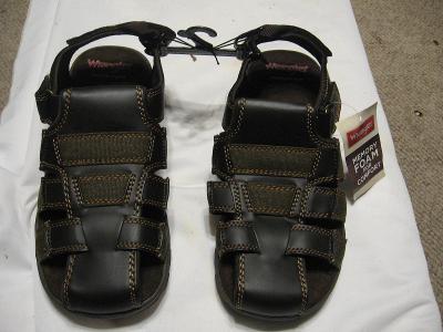 New Mens Wrangler Memory Foam Fishermens Sandals Size 8
