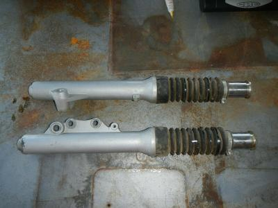 Front forks suspension 2008 Zap Zapino 60 v Volt Electric Scooter
