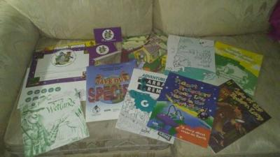 EPA Planet Protector's Club Coloring Activity Books 2 Membership Cards 1 Welcome
