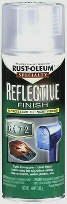 RUST-OLEUM Specialty REFLECTIVE Spray Paint Night Visibility Bikes Mailbox 10 oz