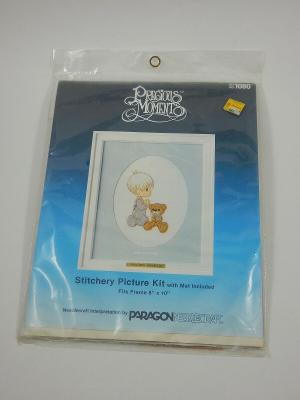 Paragon Precious Moments Stitchery Picture Kit #1080 God Loves Me SEALED