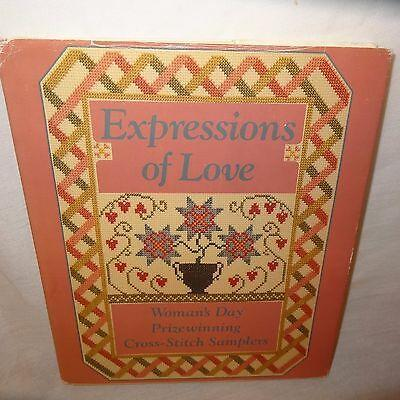 Expressions Love Womans Day Prizewinning Cross-Stitch Samplers Pattern Book 1989