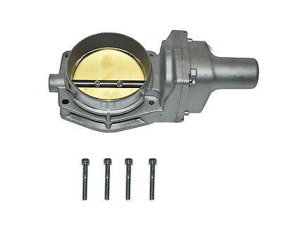 92 MM 4 BOLT THROTTLE BODY LS ENGINE DRIVE BY WIRE Compatible W/ CHEVY GM SILVER