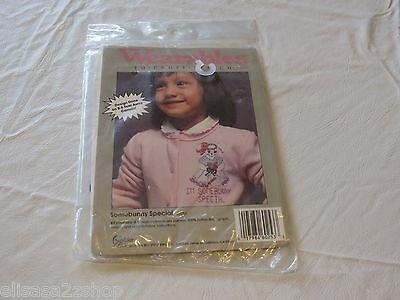 Wearables To Cross stitch IM Somebunny special 60253 kit RARE NOS new old stock