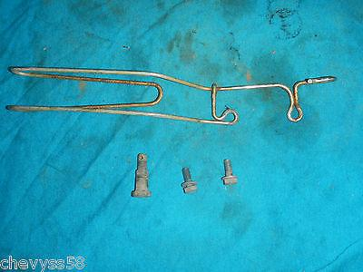 FRONT FORK CABLE WIRE GUIDE BRACKET 1978 78 HONDA XL125 XL 125