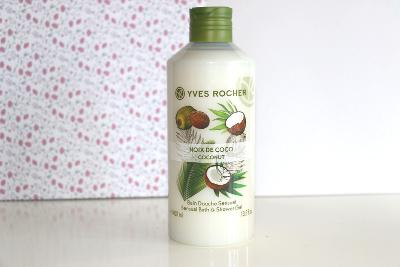 Yves rocher Yves rocher Sensual Bath & Shower Gel - Coconut 400 ml
