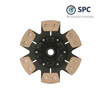 SPC STAGE 4 6-PUCK SRPUNG RACE CLUTCH DISC KIT For 1993-1997 MAZDA MX6 MX-6 2.5L
