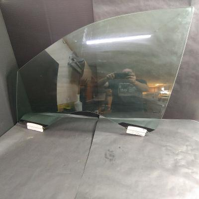 Front Driver Side Door Glass Window Panel, Clear