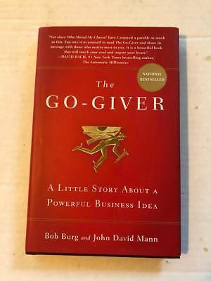 Book Hardcover The Go-Giver Bob Burg John David Mann 2007