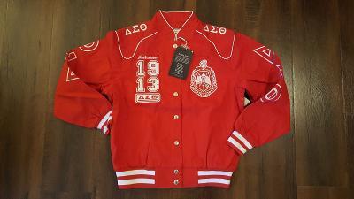 Delta Sigma Theta Sorority Race Jacket Delta Diva Howard 1913 Ooo-oop