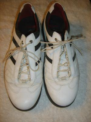 ECCO Men's Hydromax Golf Shoe, White/Black, 41 EU/7-7.5 D(M) US