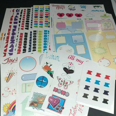 Scrapbooking Craft Kit 40 pages ABC Stickers, Activities, Seasons, Holidays