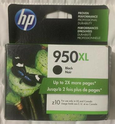 HP 950XL High Yield Black Ink Cartridge CN045AN 2020+ Sealed Retail Box FreeSH