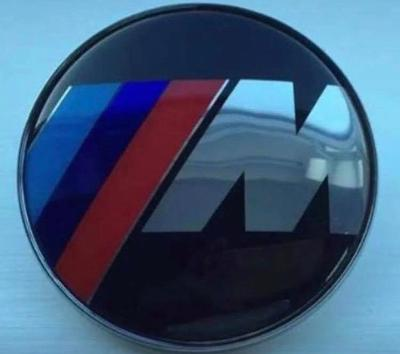 BMW 82mm M sport badge for boot or bonnet 2 pin type fitting on rear