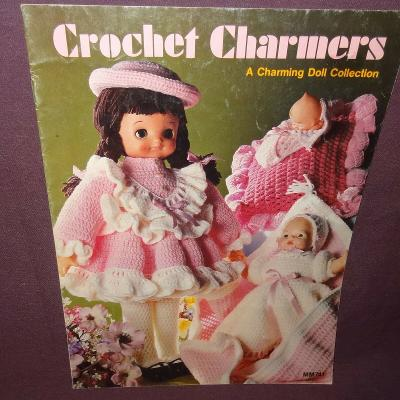 Crochet Charmers Charming Doll Collection Booklet MM741 Patterns 1982
