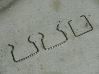 wire harness connector clips 2007 2008 2009 Triumph Sprint ST Tiger 1050