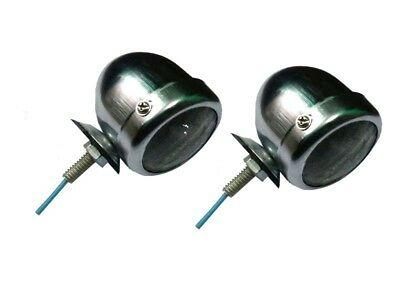 2 Side Light Lamp Of Vintage Classic Car Lucas #1142 New