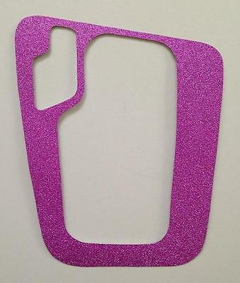 BMW E46 Glitter Pink AUTOMATIC STEPTRONIC SHIFTER PLATE COVER Decal 3-SERIES