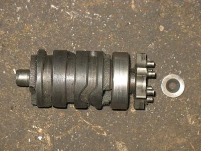 81 Yamaha YZ80 YZ 80 Gearshift Gear Shift Drum Selector Cam Assembly