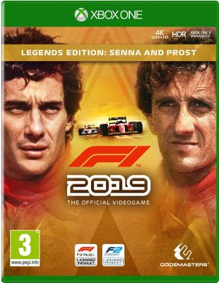 F1 2019 Legends Edition Senna XBOX ONE (NO CODE)(DIGITAL DOWNLOAD) GLOBAL