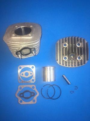 2-Stroke Engine Cylinder full Rebuild Kit 66/80cc Motorized Bicycle Type (B)40mm