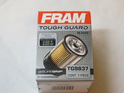 Fram TG9837 Tough Guard with Sure Grip protection up to 10000 1 oil filter