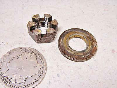 86 CUSHMAN 22HP TRUCKSTER REAR BRAKE DRUM HUB MOUNTING NUT