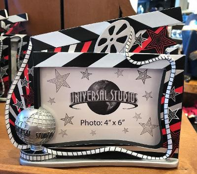 Universal Studios Exclusive Resin Photo Frame Holds 4x6 Picture New