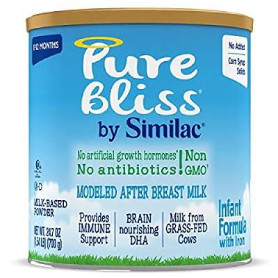 Pure Bliss by Similac Infant Formula, Modeled After Breast Milk, Non-GMO Baby Fo