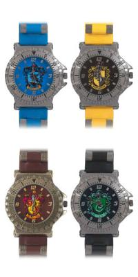Harry Potter House Colors Watch - Gryffindor, Hufflepuff, Ravenclaw, Slytherin