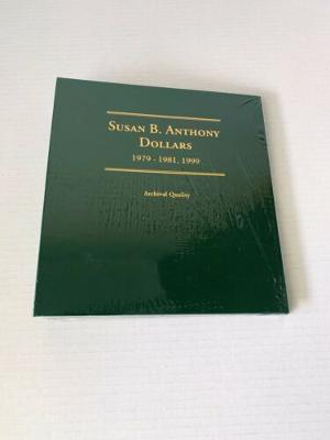 Littleton 1979-1981, 1999 Susan B Anthony Dollar Coin Book New And Sealed