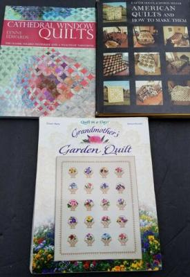 Cathedral Window Quilts Grandmothers Garden American 3 How To Books Quilting